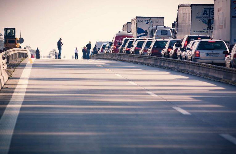 Jelentős torlódások az autópályákon