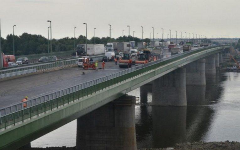 Forgalomkorlátozás lesz a hárosi Duna-hídon…